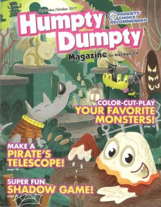 Humpty Dumpty Sept:Oct 2018