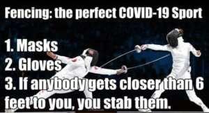 Fencing meme