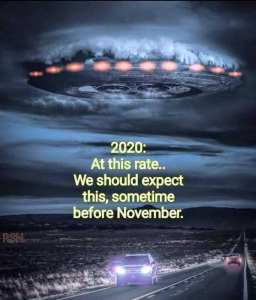 Meme 2020 Alien Invasion