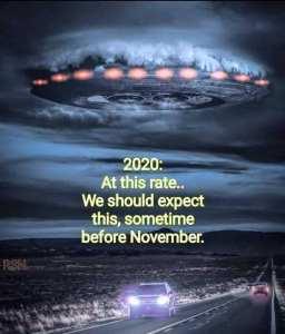 Meme 2020 Alien Invasion